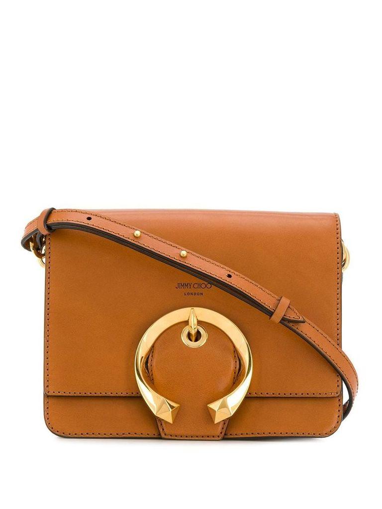 Jimmy Choo Madeline shoulder bag - Brown
