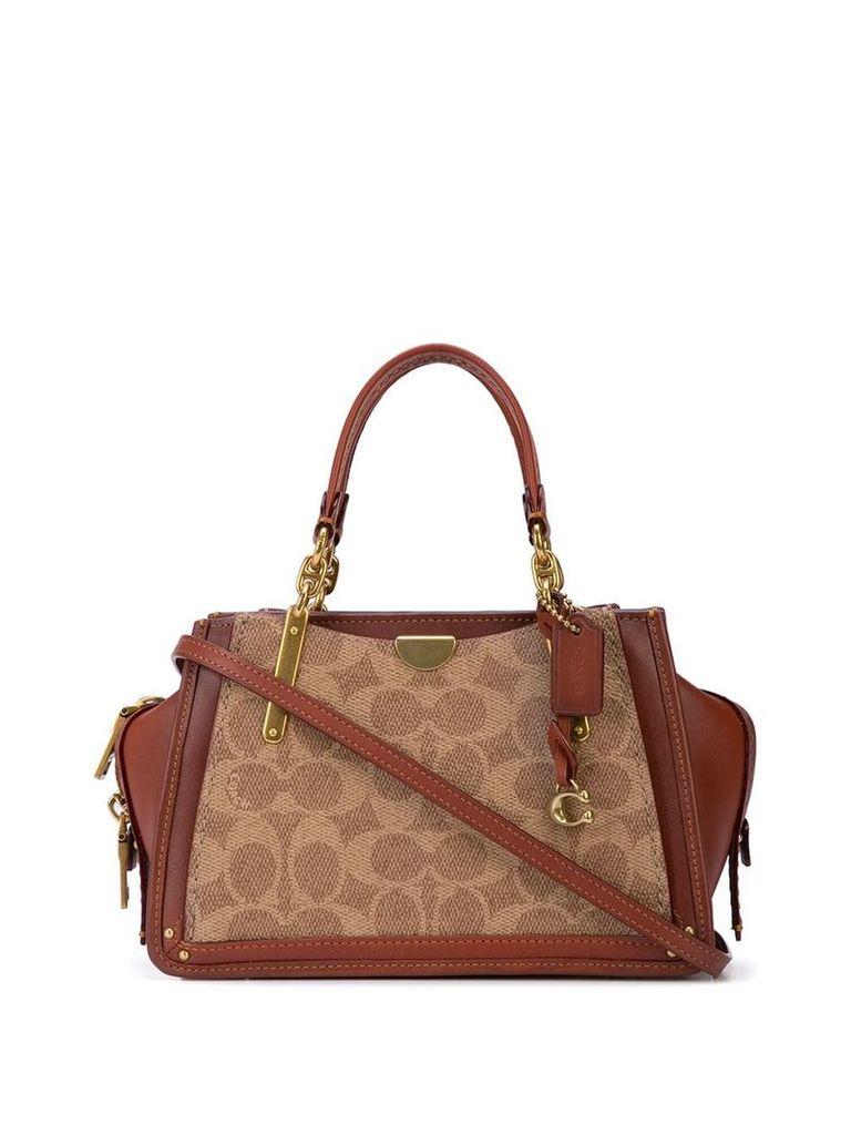 Coach Dreamer 21 shoulder bag - Brown