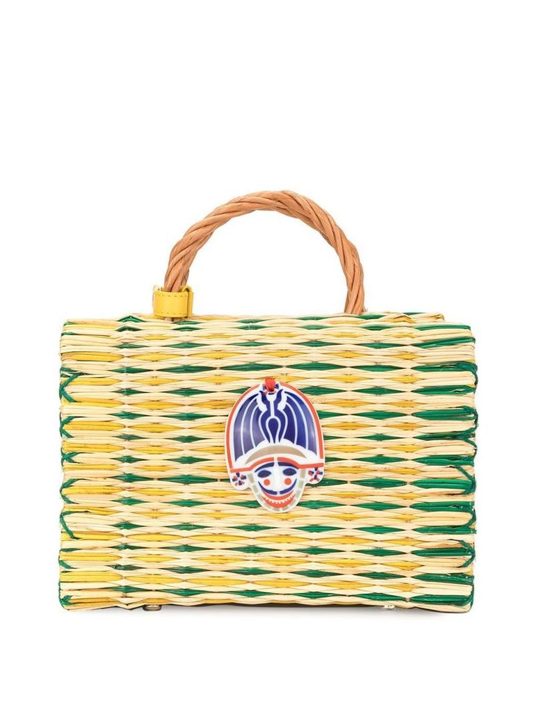 Heimat Atlantica Brazil Cigarron top handle bag - Multicolour