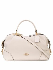 Coach crossbody bagette - White