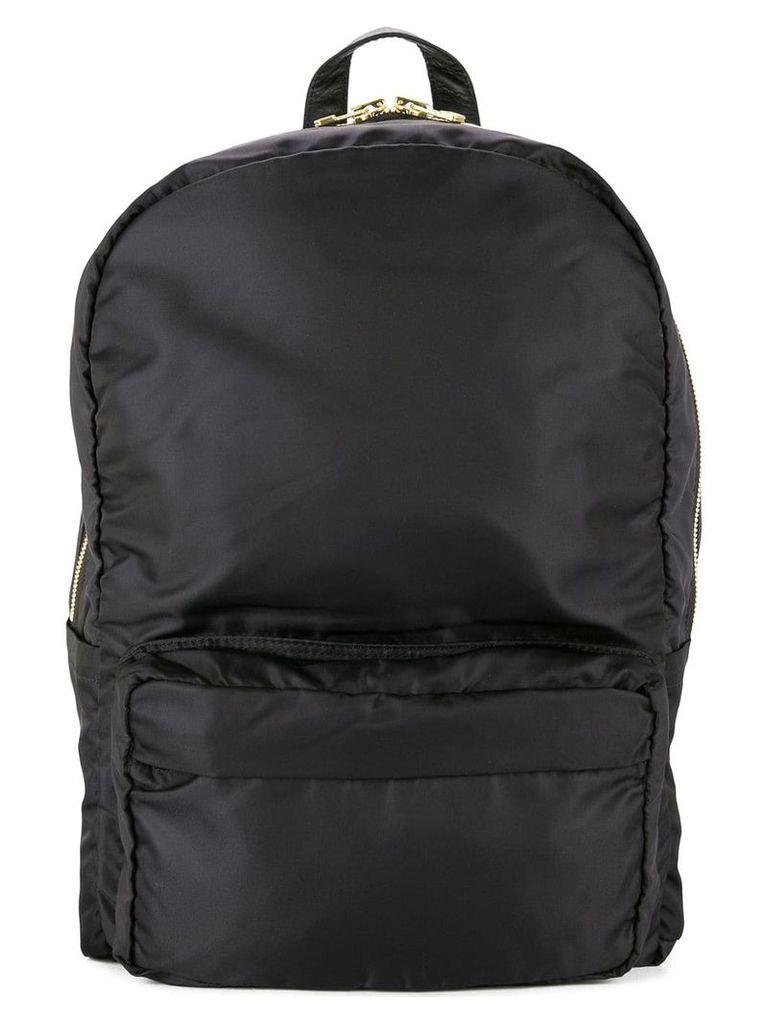 Tu es mon TRÉSOR Tuck ribbon backpack - Black