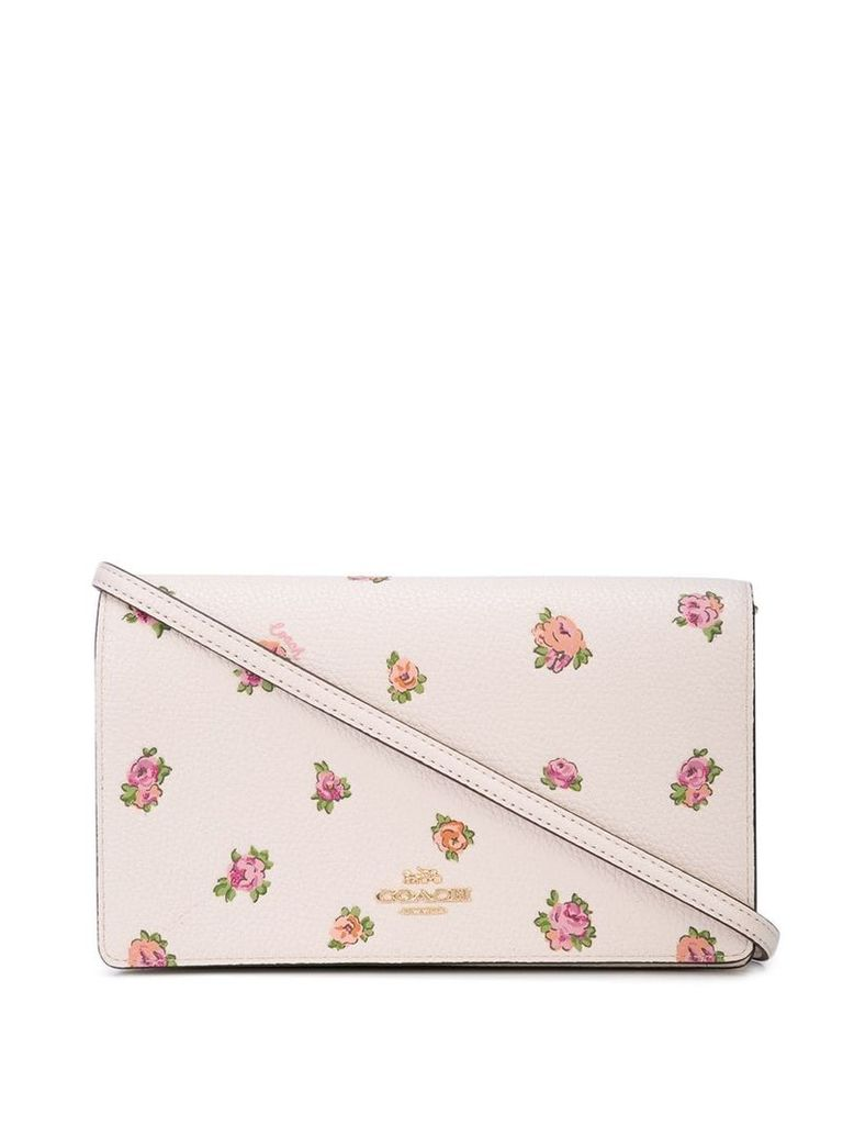 Coach floral print mini bag - Pink