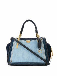 Coach Dreamer denim shoulder bag - Blue