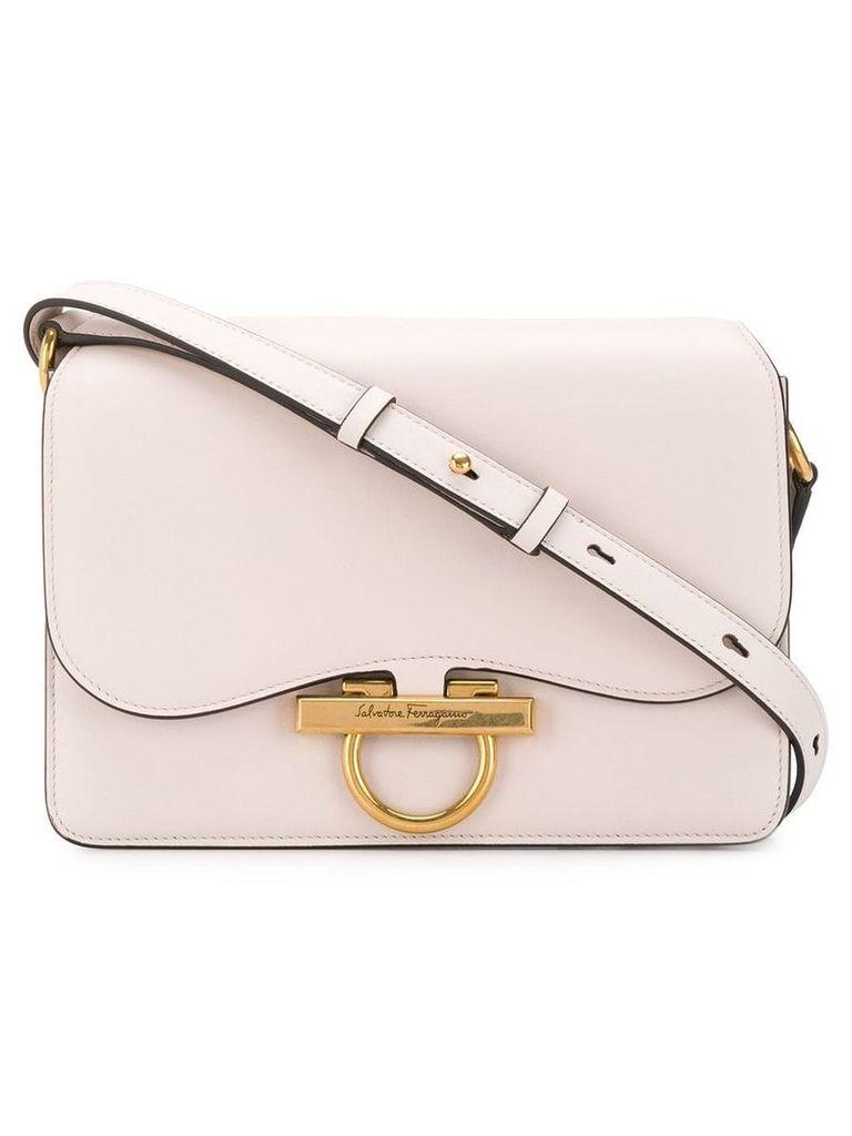 Salvatore Ferragamo classic flap crossbody bag - Pink