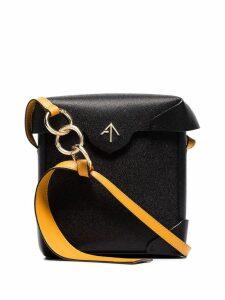 Manu Atelier Pristine mini cross-body bag - Black