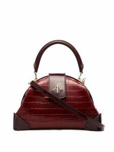 Manu Atelier Demi top handle bag - Red