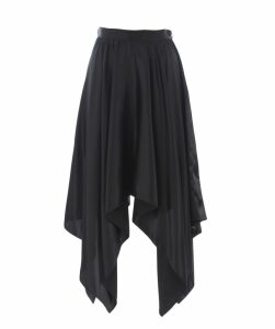 Flared Asymmetric Skirt