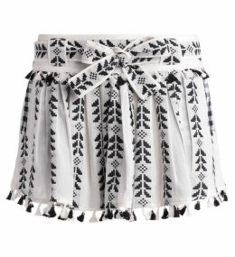 Dodo Bar Or Ariana Black And White Skirt