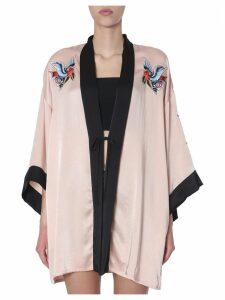 RED Valentino Liquid Satin Kimono