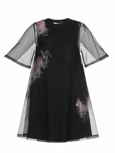 McQ Alexander McQueen Dress With Feathers