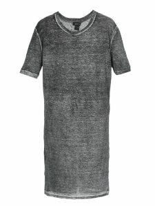 Avant Toi Printed Melange Effect Dress