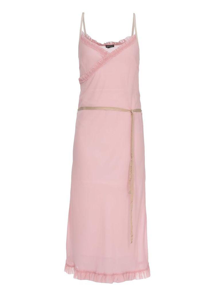 Ann Demeulemeester Sheer Dress With Frills