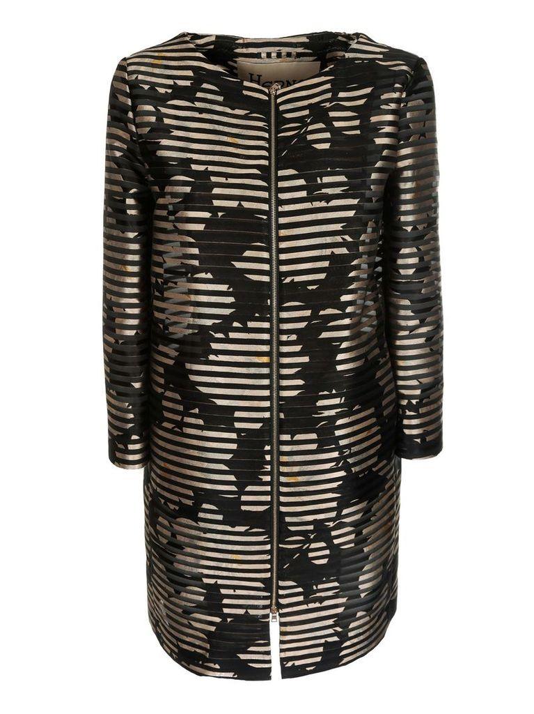 Herno Striped Coat