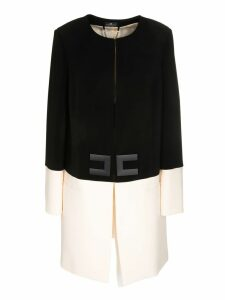 Elisabetta Franchi Celyn B. Two-tone Coat