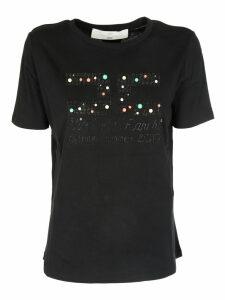 Elisabetta Franchi Celyn B. Studded T-shirt