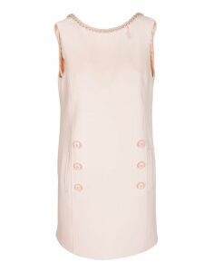 Elisabetta Franchi Celyn B. Sleeveless Boxy Dress