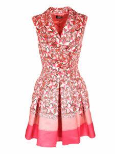 Elisabetta Franchi Celyn B. Star Print Mini Dress