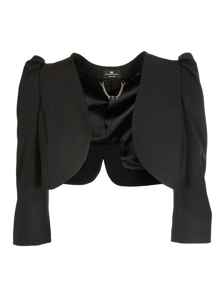 Elisabetta Franchi For Celyn B. Cropped Blazer