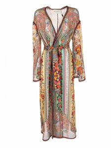 Etro Floral Print Kimono Coat