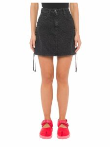 McQ Alexander McQueen Leopard Print Skirt