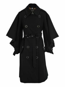 Burberry London Burberry Cape Sleeve Trench Coat