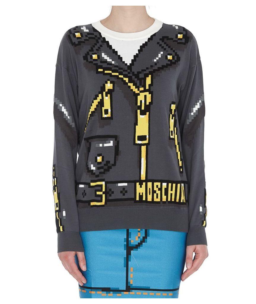 Moschino Pixel Capsule Sweater
