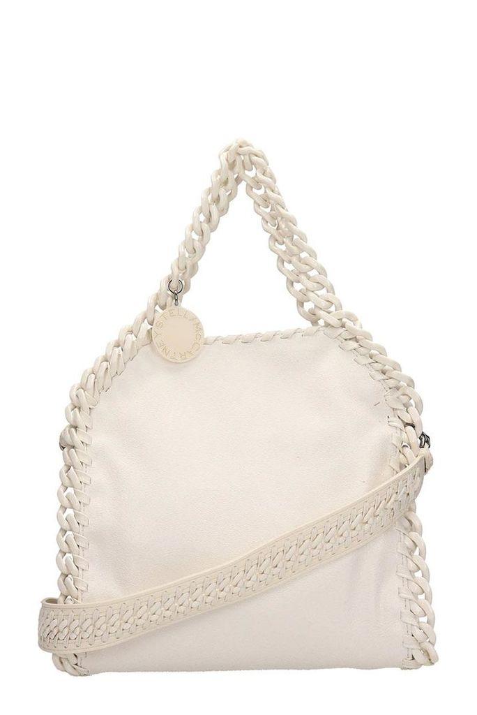 Stella McCartney Mini Falabella Bag In White Eco-leather