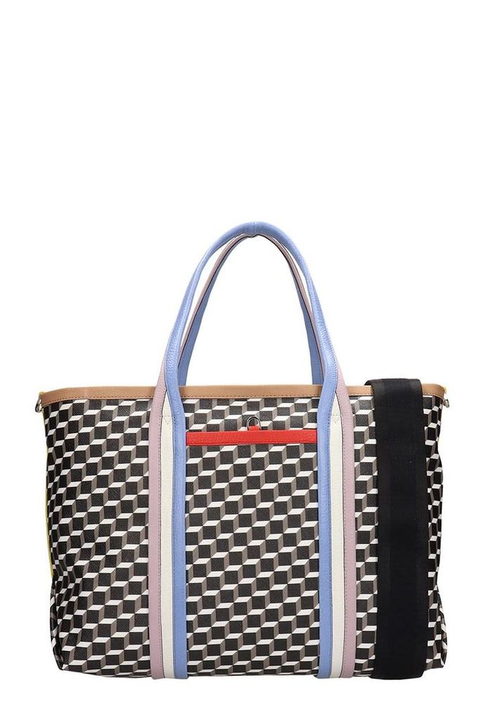 Pierre Hardy Black Leather Polycube Bag