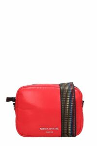 Sonia Rykiel Red Nylon Camera Bag