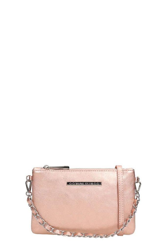 Marc Ellis Laminated Copper Leather Kendall Bag