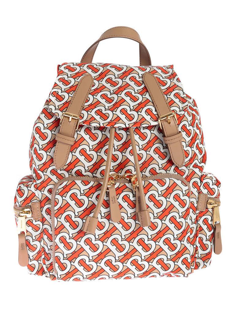 Burberry Medium B All-over Print Classic Backpack