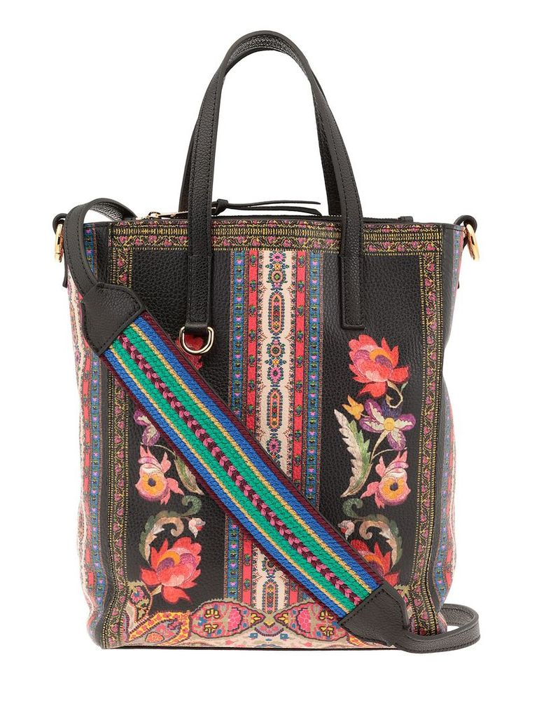 Etro Printed Leather Bag