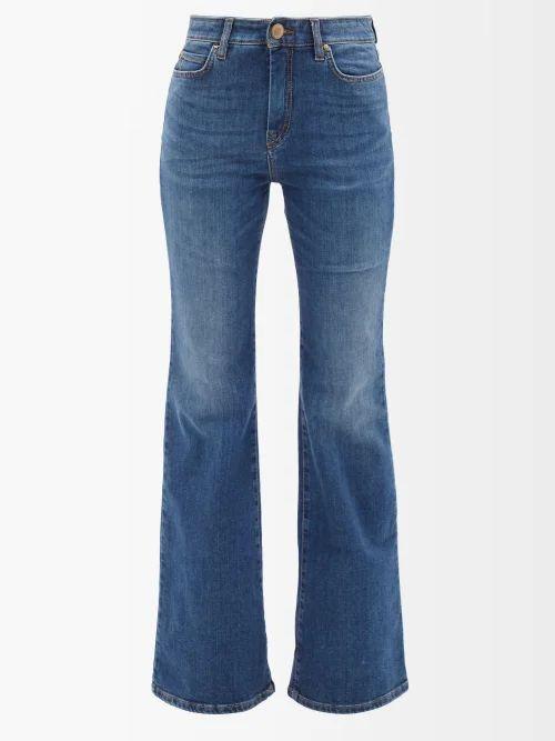 Albus Lumen - Aziza Cotton Gauze Hooded Blouse - Womens - Red