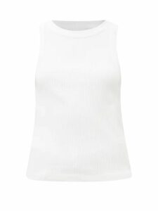 Zimmermann - High Rise Pleated Crepe Midi Skirt - Womens - Black