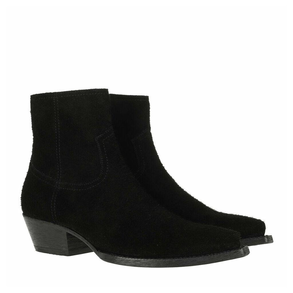Saint Laurent Boots & Booties - Lukas Boots Suede Black - black - Boots & Booties for ladies