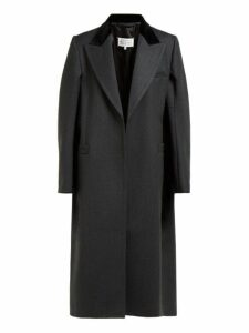 Maison Margiela - Cape Style Wool Coat - Womens - Grey