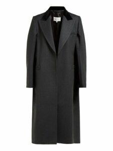 Maison Margiela - Cape Style Wool Coat - Womens - Grey