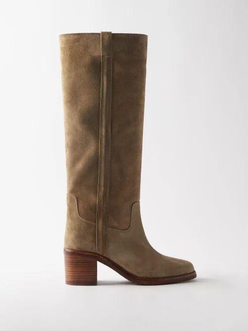 Rianna + Nina - Volant Tiered Skirt Silk Shirtdress - Womens - Multi
