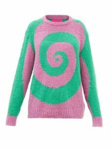 Gucci - Gg Technical Jersey Hooded Dress - Womens - Beige Multi