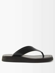 Ganni - Over The Moon Print Cotton Poplin Midi Dress - Womens - Blue