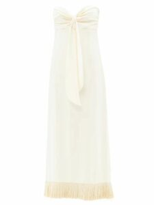 Ace & Jig - Sangria Striped Cotton Wrap Skirt - Womens - Green