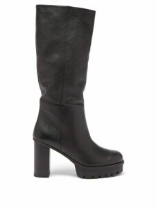 Haider Ackermann - Houndstooth Poplin Single Breasted Blazer - Womens - Black White