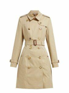 Burberry - Chelsea Heritage Cotton Gabardine Trench Coat - Womens - Beige