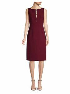 Doreen Ladder Front Sheath Dress