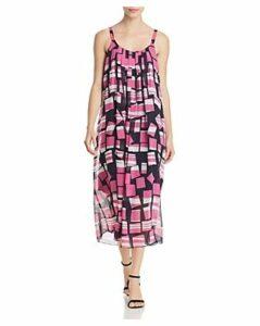 Nic+Zoe Block Party Sleeveless Printed Midi Dress