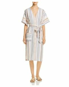 Three Dots Portofino Striped Shift Dress