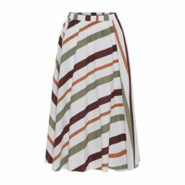 Moshi Moshi Mind Ceres Skirt Safari Stripe - S - Safari Stripe