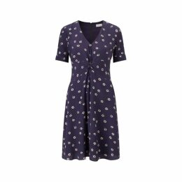 Jigsaw Daisy Twist Front Tea Dress