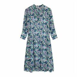 Samsøe & Samsøe Elm Floral-print Shirt Dress