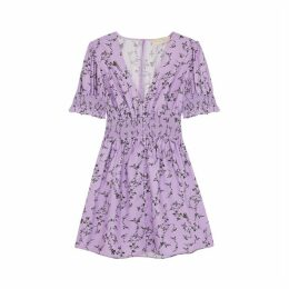 KEEPSAKE Secure Floral-print Mini Dress